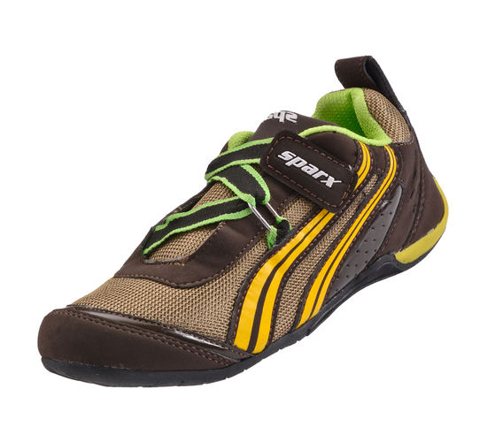SPARX BROWN KIDS SPORTS SHOES_SK-505