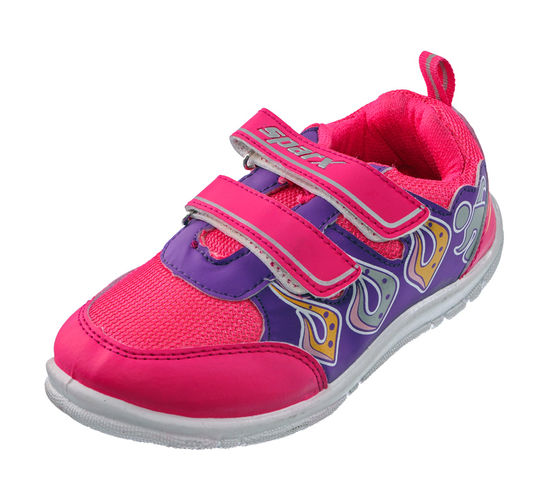 SPARX PINK/PURPLE KIDS CASUALS SHOES_SK-511
