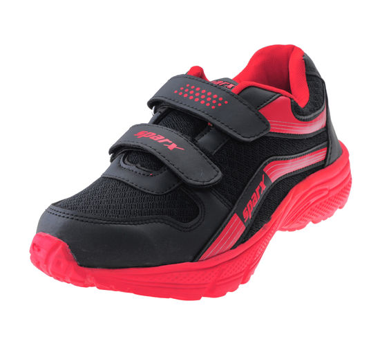 SPARX BLACK/RED KIDS SPORTS SHOES_SK-516