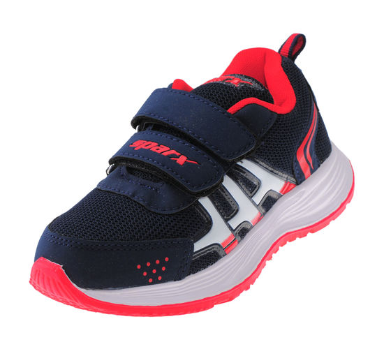 SPARX NAVY/RED KIDS SPORTS SHOES_SK-517
