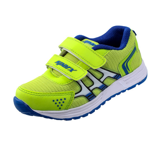 SPARX R.BLUE/F.GREEN KIDS SPORTS SHOES_SK-517