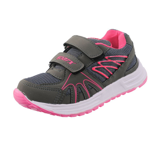 SPARX GREY/PINK KIDS SPORTS SHOES_SK-518