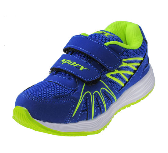 SPARX BLUE/GREEN KIDS SPORTS SHOES_SK-518