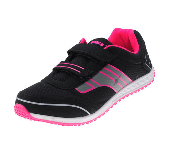 SPARX BLACK/PINK LADIES SPORTS SHOES_SL-92