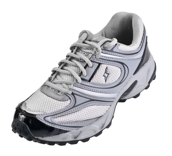SPARX GREY/SILVER GENTS SPORTS SHOES_SM-118