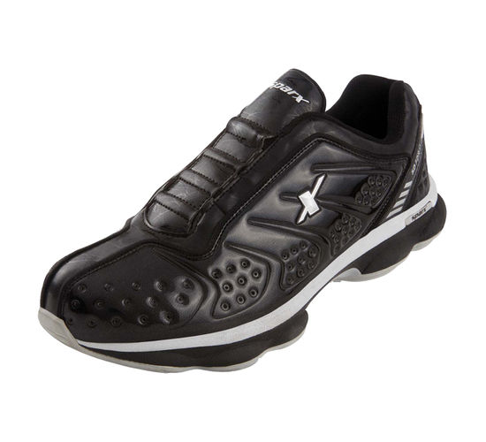 SPARX BLACK/SILVER GENTS SPORTS SHOES_SM-148