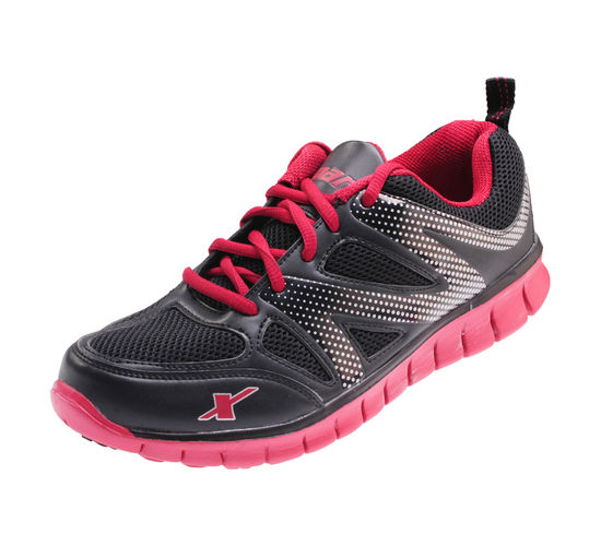 SPARX BLACK/RED GENTS SPORTS SHOES_SM-178