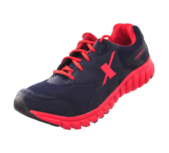 SPARX N.BLUE/RED GENTS SPORTS SHOES_SM-185
