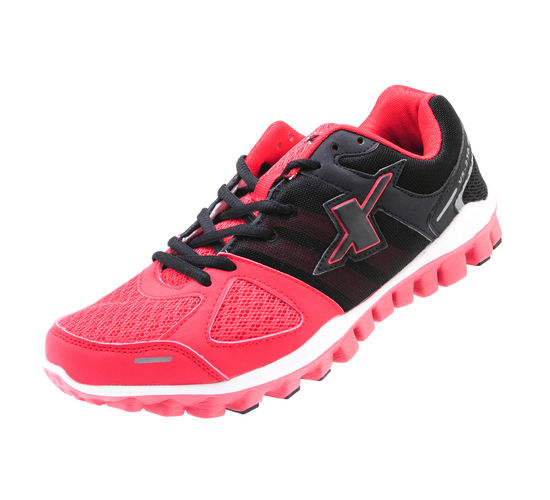 SPARX BLACK/RED GENTS SPORTS SHOES_SM-194
