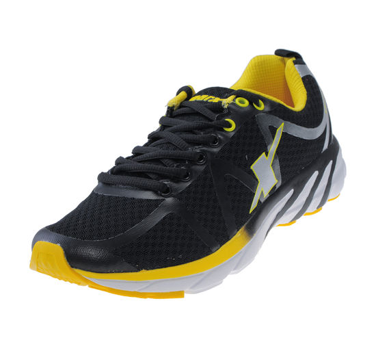 SPARX BLACK/YELLOW GENTS SPORTS SHOES_SM-263