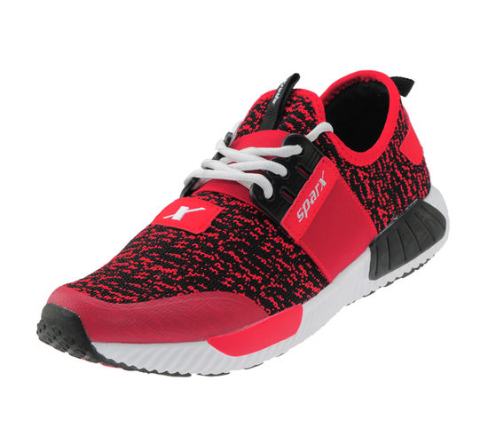 SPARX RED/BLACK GENTS SPORTS SHOES_SM-264