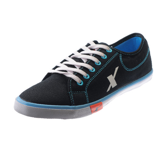 SPARX BLACK/S.BLUE GENTS SPORTS SHOES_SM-283