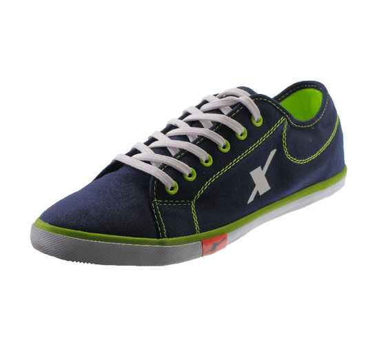 SPARX N.BLUE/FL. GREEN GENTS SPORTS SHOES_SM-283