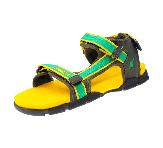 SPARX GREEN/OLIVE KIDS CASUALS SANDALS_SS-115