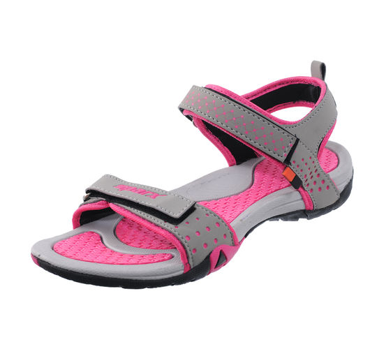 SPARX PINK/GREY LADIES CASUALS SANDALS_SS-803