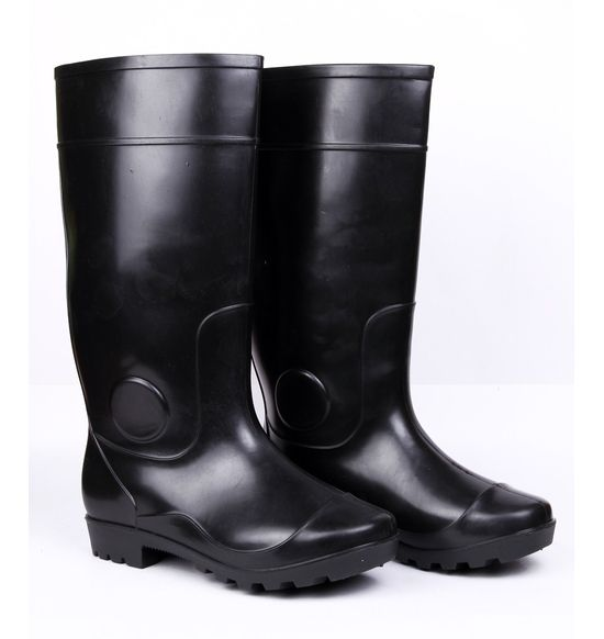 Safety Gumboots - Century- Black-Black