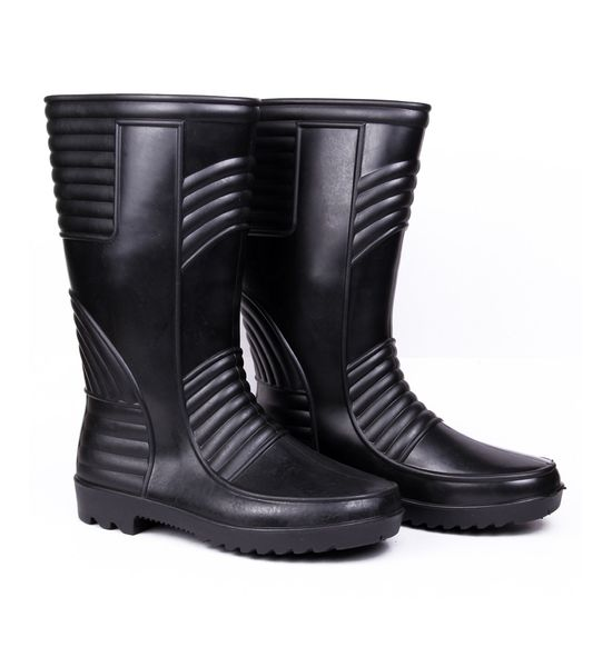 Safety Gumboot- Welsafe - Black