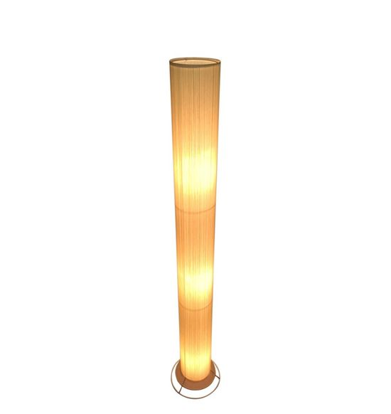 SALEBRATIONS CYLINDRICAL FLOOR LAMP SHADES WITH VERTICAL YARN
