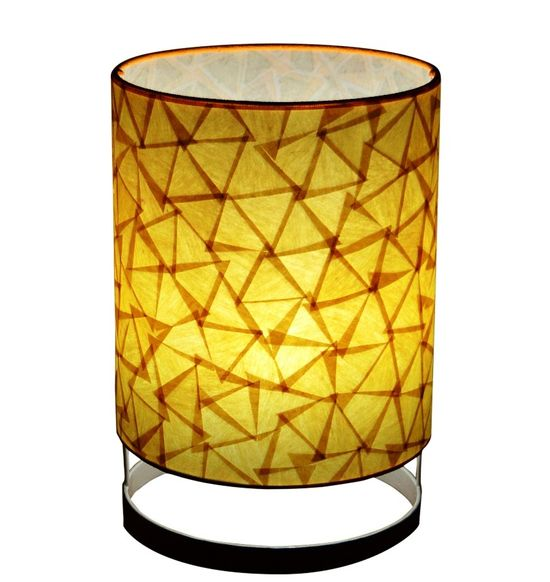 SALEBRATIONS DRUM FLOOR LAMP SHADES  WITH TRIANGULAR CUT SHOJI PAPER
