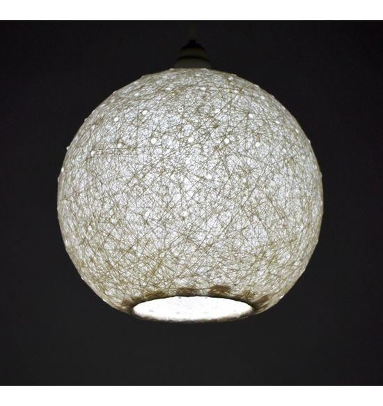 Salebrations Hanging Ball Lamp Shades Yarn With Holes | Hg-bll ...