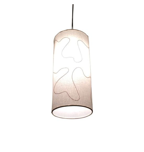 Salebrations hanging cylindrical lamp shades fabric with amoeba salebrations hanging cylindrical lamp shades fabric with amoeba mozeypictures Image collections