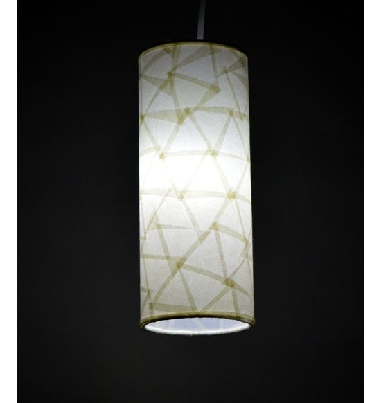 Salebrations hanging cylindrical lamp shades with triangular cut salebrations hanging cylindrical lamp shades with triangular cut shoji paper mozeypictures Image collections