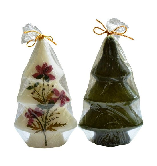 SALEBRATIONS PERFUMED CHRISTMAS TREE CANDLES