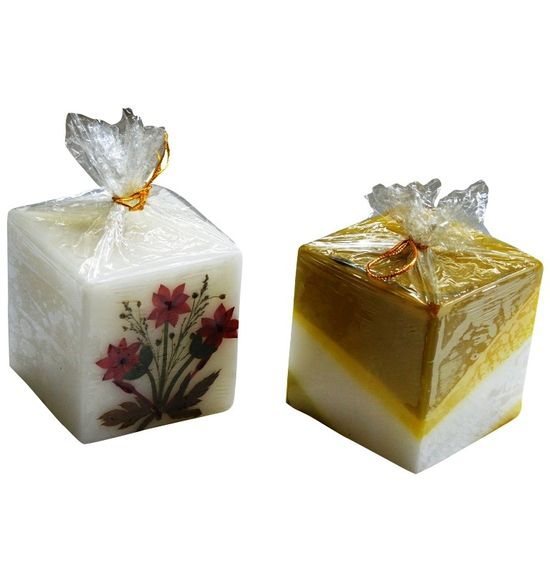 SALEBRATIONS PERFUMED SQUARE CANDLES