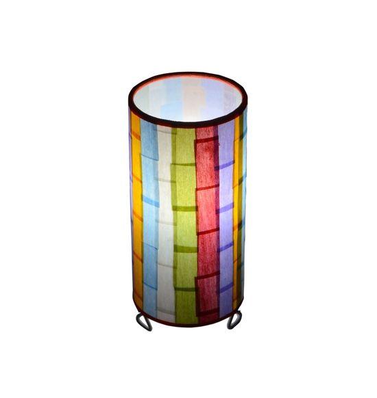 ... SALEBRATIONS CYLINDRICAL TABLE LAMP SHADES RECTANGULAR CUT VERTICAL  SHOJI PAPER ...