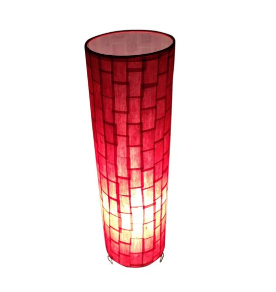 SALEBRATIONS CYLINDRICAL TABLE LAMP SHADES RECTANGULAR CUT VERTICAL SHOJI PAPER