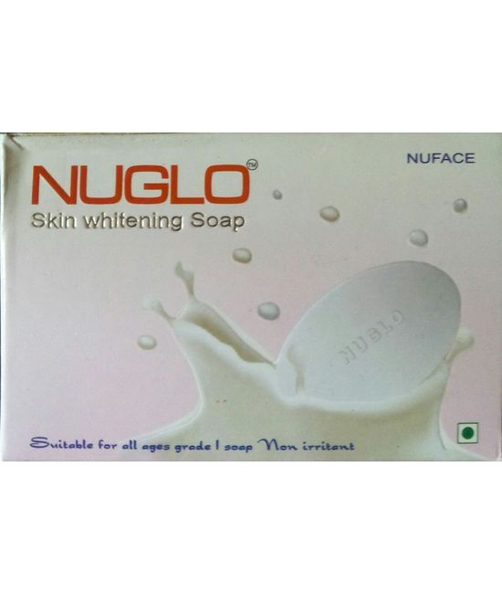 nuglo skin whitening soap in india