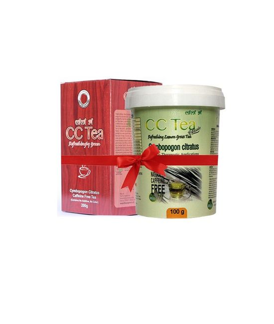 Combo Pack - 1 pc of CC Tea Classic 100 g (Granule) + 1 pc of CC Tea 200 g (Granule)