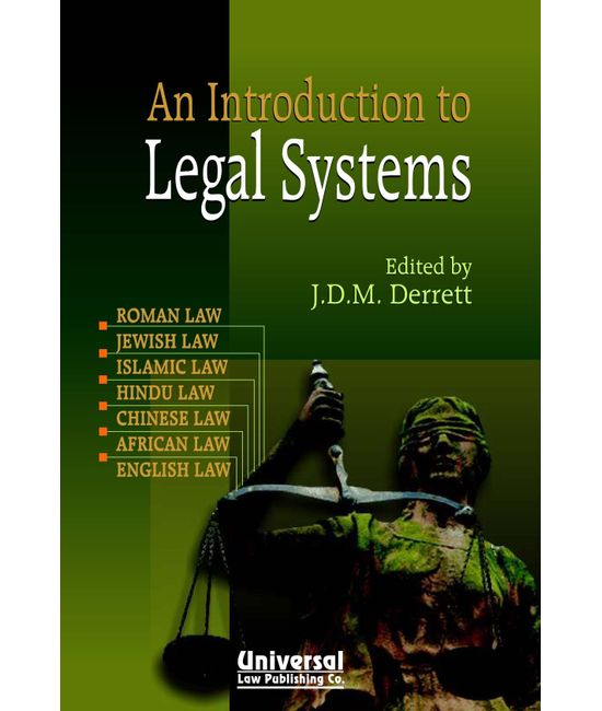 Introduction to Legal Systems, (Third Indian Reprint)