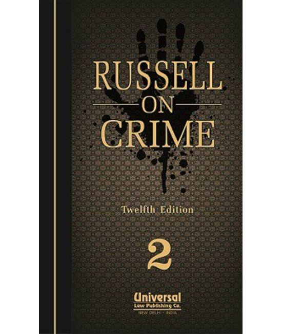 On Crime, 12th Edn., (In 2 Vols.) (Second Indian Reprint)