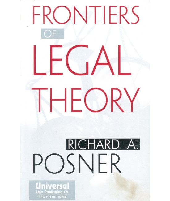 Frontiers of Legal Theory, (Second Indian Reprint)