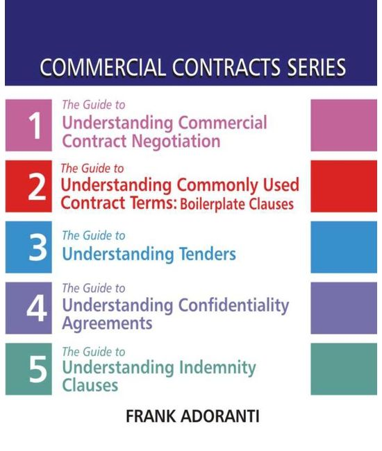 Commercial Contracts Series (Set of Five Books) (First Indian Reprint)