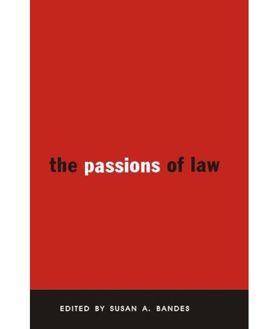 The Passions of Law (First Indian Reprint)