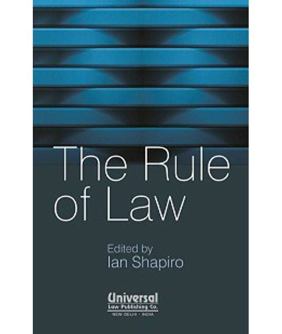 The Rule of Law, (First Indian Reprint)