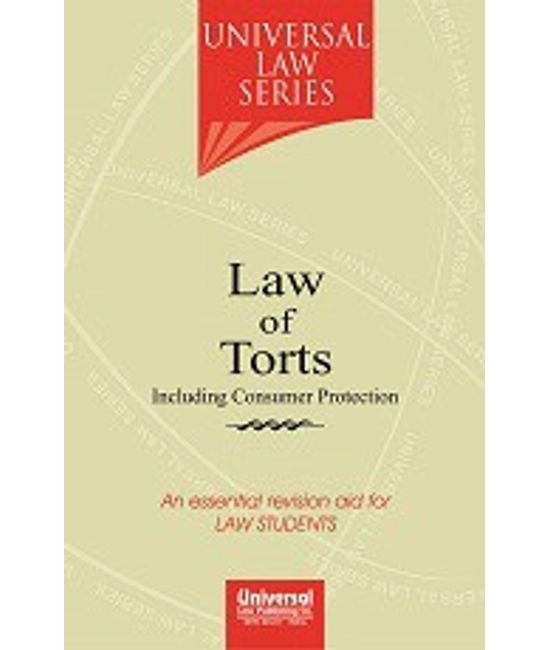 Law of Torts including Consumer Protection, 3rd Edn.