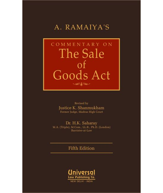 Commentary on the Sale of Goods Act, 5th Edn.