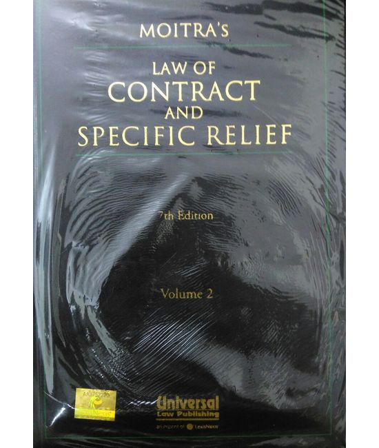 Law of Contrat and Specific Relief