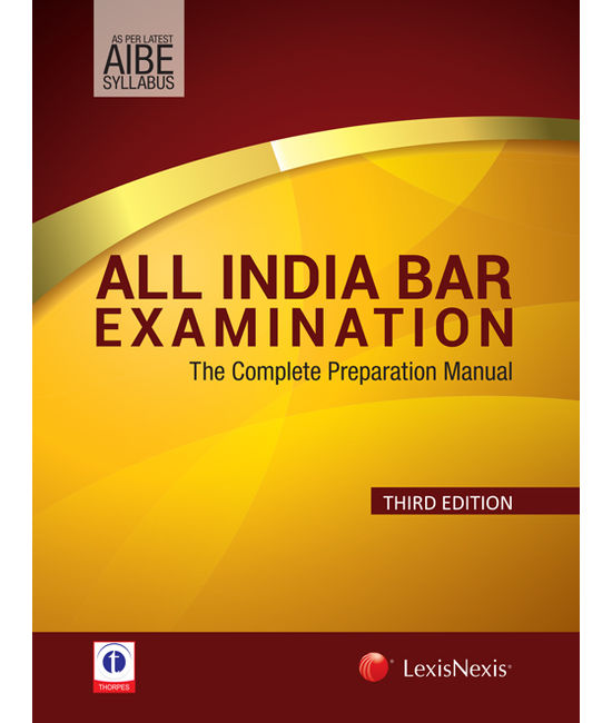 All India Bar Examination–The Complete Preparation Manual