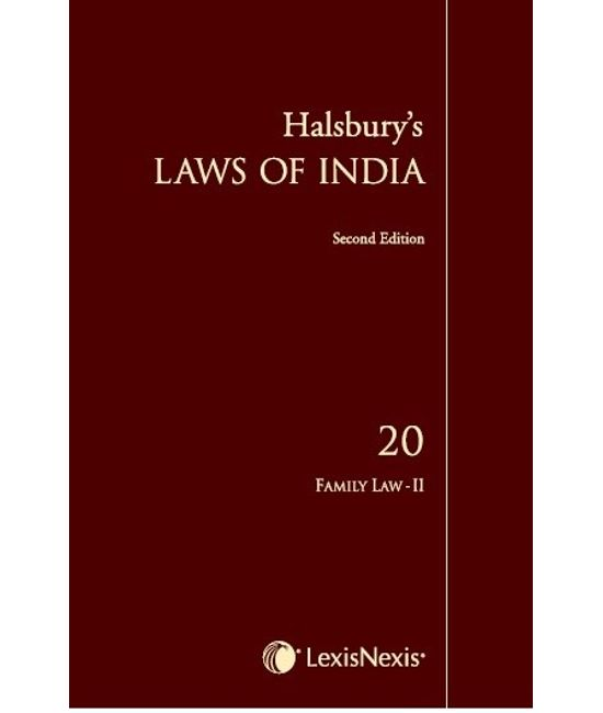 HALSBURY?S LAWS OF INDIA Volume 20: Family Law II