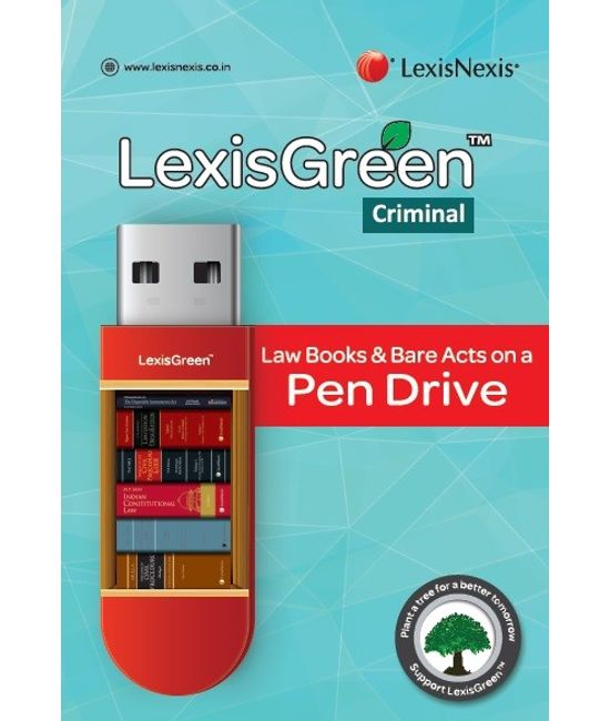 LexisGreen Criminal: Law Books & Bare Acts on a Pen Drive