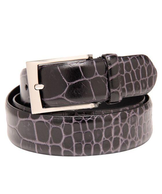 Leatherplus Black Belt for Men(C-1540)