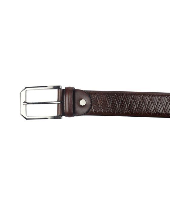 Leatherplus Brown Belt for Men(B-306)