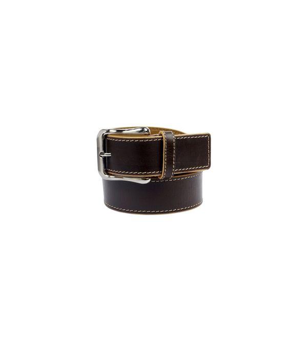 Leatherplus Brown Belt for Men(IT-07)