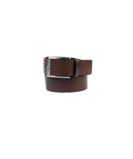Leatherplus Brown Belt for Men(C-570)