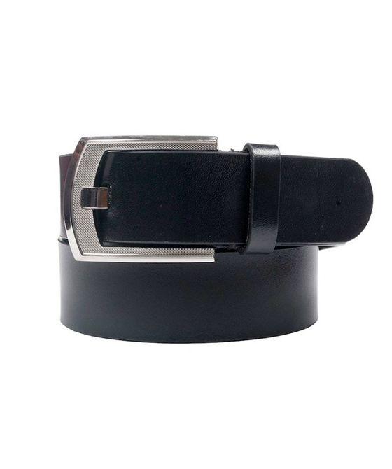 Leatherplus Black Belt for Men(IT-019)