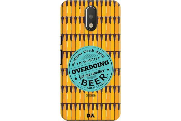 Another Beer Case For Motorola Moto G4/Moto G4 Plus